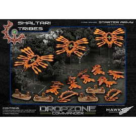 Hawk Wargames Dropzone Commander - Shaltari Tribes Premium Starter Army with Case