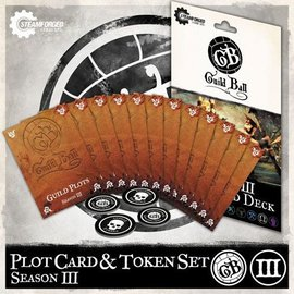 Steamforged Games Guild Ball Season 3 Plot Cards