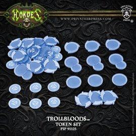 Privateer Press Hordes - Trollbloods - MKIII Token Set