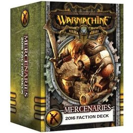 Privateer Press Warmachine - Mercenaries - Faction Deck (MKIII)