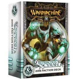 Privateer Press Warmachine - Retribution of Scyrah - Faction Deck (MKIII)