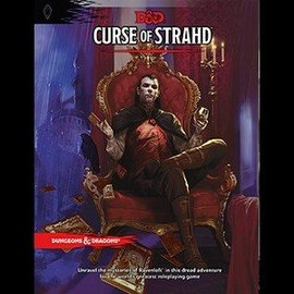 Wizards of the Coast Dungeons and Dragons: Curse of Strahd