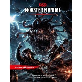 Wizards of the Coast Dungeons and Dragons: 5th Edition Monster Manual