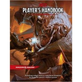 Wizards of the Coast Dungeons and Dragons: 5th Edition Player's Handbook