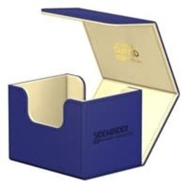 Ultimate Guard Sidewinder Deck Case 100+ Small - Blue and Gold