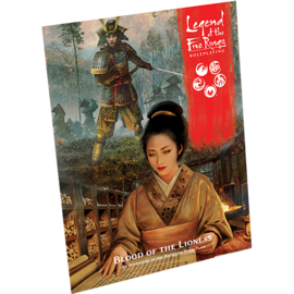 Fantasy Flight Legend of the Five Rings RPG - Blood of the Lioness