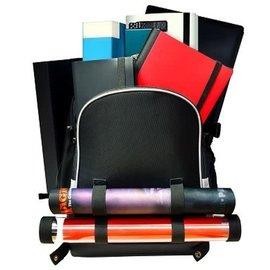 Ultra Pro Citadel Backpack Black w/Silver