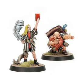 Games Workshop Blood Bowl: Elf and Dwarf Biased Referees