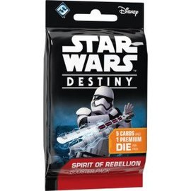 Asmodee Star Wars Destiny: Spirit of Rebellion Booster Pack