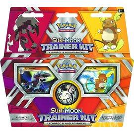 Pokemon International Sun & Moon Trainer Kit Lycanroc & Alolan Raichu