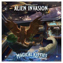 Atlas Games Magical Kitties Save the Day - Alien Invasion