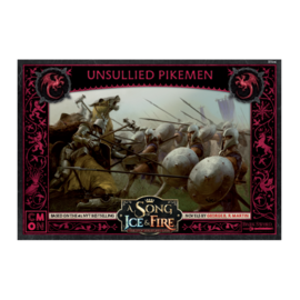 Cool Mini or Not A Song of Ice & Fire: Tabletop Miniatures Game  - Unsullied Pikemen