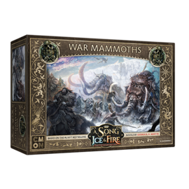 Cool Mini or Not A Song of Ice & Fire: Tabletop Miniatures Game  - Free Folk War Mammoths