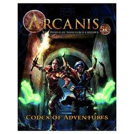 Paradigm Concepts D&D 5E: Arcanis: Codex Adventures, Vol. I