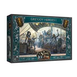Cool Mini or Not A Song of Ice & Fire: Tabletop Miniatures Game - Greyjoy Heroes #1