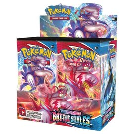 Pokemon International (Limit 12 Per Person) Sword and Shield Battle Styles Booster Pack