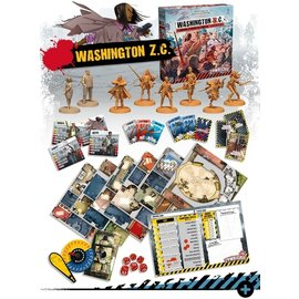 Cool Mini or Not Zombicide 2nd Edition: Washington Z.C.
