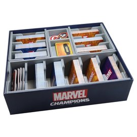 Folded Space Box Insert: Marvel Champions: Card Game