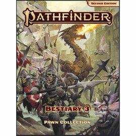 Paizo Pathfinder Second Edition Pawns: Bestiary 3 Box