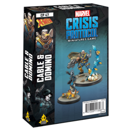 Fantasy Flight Marvel: Crisis Protocol - Cable & Domino Character Pack
