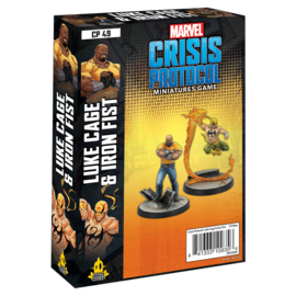 Fantasy Flight Marvel: Crisis Protocol - Luke Cage & Iron Fist Character Pack