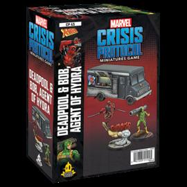 Fantasy Flight Marvel: Crisis Protocol - Deadpool & Bob, Agent of Hydra Character Pack