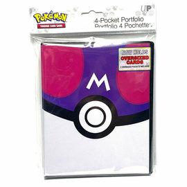 Ultra Pro Pokemon Master Ball 4-Pocket Binder