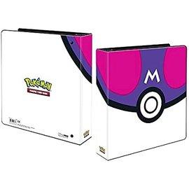 "Ultra Pro Pokemon Master Ball 2"" 3-Ring Binder"