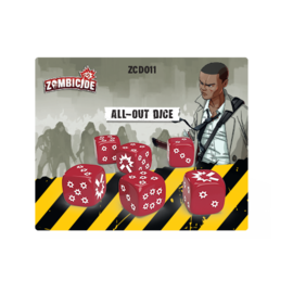 Cool Mini or Not Zombicide 2nd Edition - All-Out Dice