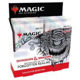 Wizards of the Coast (Local Preorder Only) Adventures in the Forgotten Realms Collector Booster Box