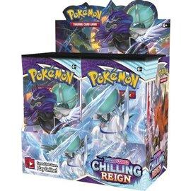 Pokemon International (1 per person) Sword and Shield Chilling Reign Booster Box