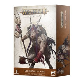 Games Workshop Age of Sigmar - Broken Realms: Ghorraghan Khai – The Butcher-herd
