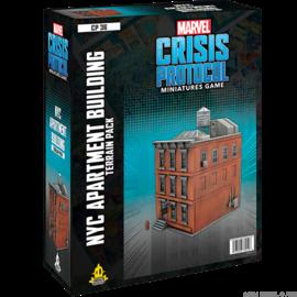 Fantasy Flight Marvel: Crisis Protocol - NYC Apartment Building Terrain