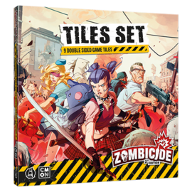 Cool Mini or Not Zombicide 2nd Edition - Tile Set