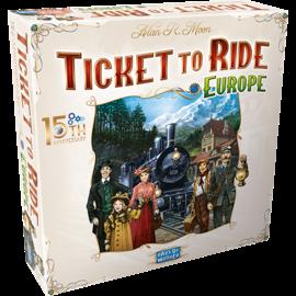 Days of Wonder Ticket to Ride: Europe - 15th Anniversary