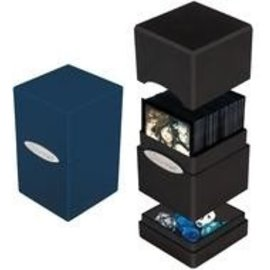 Ultra Pro Satin Tower Blue Deck Box
