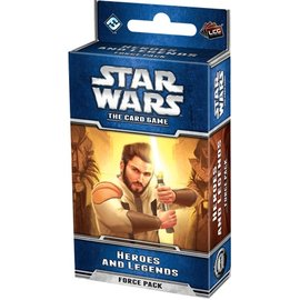 Fantasy Flight Star Wars: The Card Game - Heroes and Legends Force Pack