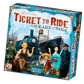 Days of Wonder Ticket to Ride: Rails & Sails (ANA Top 40)