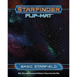 Paizo Starfinder RPG: Flip-Mat - Basic Starfield