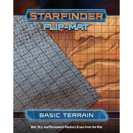 Paizo Starfinder RPG: Flip-Mat - Basic Terrain
