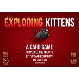 Kickstarter Exploding Kittens