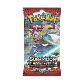 Pokemon International Pokemon Sun & Moon: Crimson Invasion Booster Pack