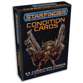Paizo Starfinder RPG: Condition Cards