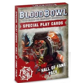 Games Workshop Blood Bowl Cards: Hall of Fame Pack
