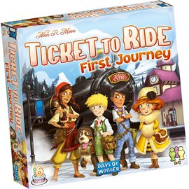 Days of Wonder Ticket to Ride: First Journey - Europe