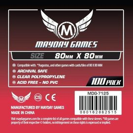 Mayday Games Mayday Sleeves: Medium Square Sleeve 80mm x 80mm (100)