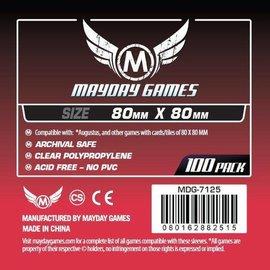 Mayday Games Mayday Sleeves: Medium Square Sleeve 80mm x 80mm (100)