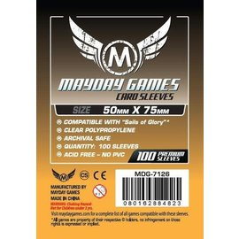 Mayday Games Mayday Sleeves: Custom Sails of Glory 50mm x 75mm (100)