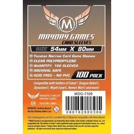 Mayday Games Mayday Sleeves: Yucatan Narrow Card Sleeves 54mm x 80mm (100)