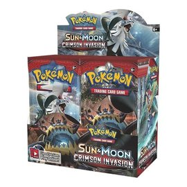 Pokemon International Pokemon Sun & Moon: Crimson Invasion Booster Box